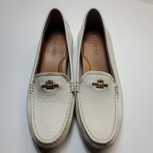 Coach Mary Lock Up shoes off white size 8B
